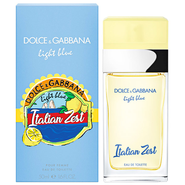 Dolce Gabbana Light Blue Italian Zest