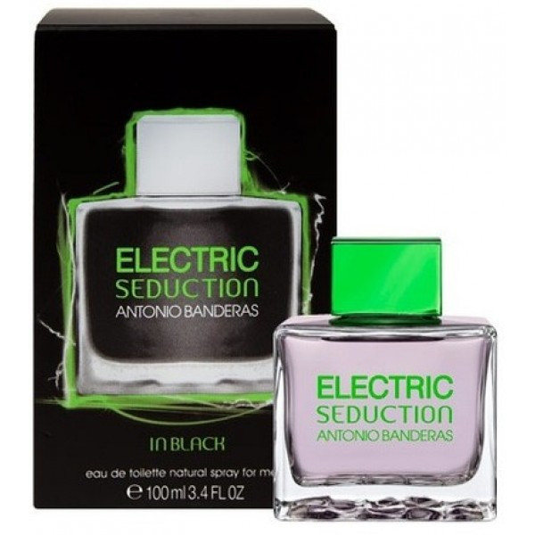 Antonio Banderas Electric Seduction in Black
